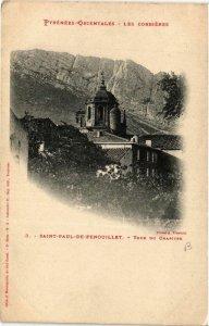 CPA St.Paul de Fenouillet Tour du Chapitre (680936)