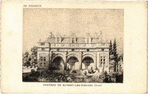CPA En Picardie Chateau de NOGENT-les-VIERGES (377312)