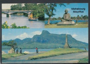 Mauritius Postcard - River La Chaux and Lion Mountain    T4349