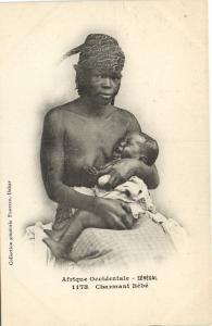 CPA Senegal Ethnic Nude Fortier - 1173. Charmant Bébé (71151)