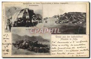 Old Postcard Gruss aus der katholischen Mission in Namaqualand Hottenotten Po...