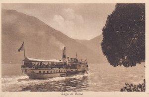 RP; LAGO DI COMO, Italy, 1930-1950s; Lake Lanier Boat