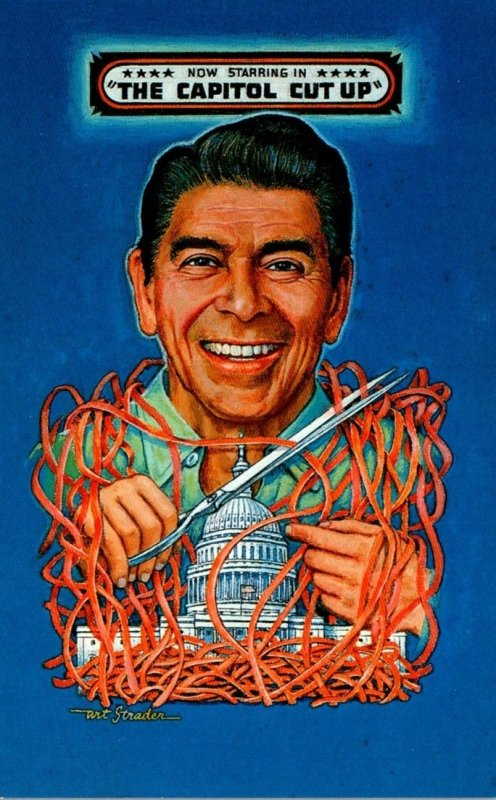 Humour Ronald Reagan Now Starring In The Capitol Cut Up