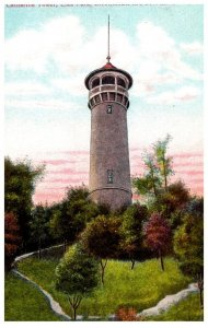 New York    Catskill Mtns.  Catherine Tower Elks park