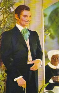 Clark Gable as Rhett Butler Movieland Wax Museum Buena Park California