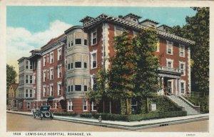ROANOKE , Virginia , 1910s ; Lewis-Gale hospital