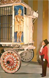 Sarasota Florida~Ringling Circus Museum~Gilded Cage Wagon~Frank Cucksey~1960s