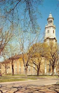 Beloit Wisconsin~First Congregational Church~Dedicated 1862~1950s Postcard