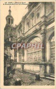 Old Postcard Caen Hotel Duval Mondrainville