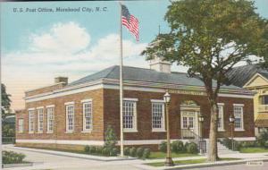North Carolina Moorehead City Post Office 1943 Curteich