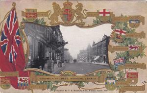 WINDSOR , Ontario , Canada , 00-10s ; Sandwich Street West