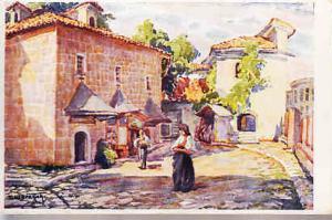 Sarajevo - Street Scene - T. Chvrakitch Artist  #2