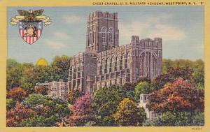 Cadet Chapel, U. S. Military Academy, West Point, New York, 1930-1940s