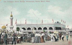 REVERE BEACH, Massachusetts, 1907 ; Thompson Railway, Wonderland