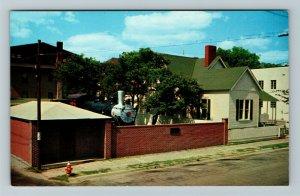 Jackson TN-Tennessee, Casey Jones Home & Railroad Museum, Chrome Postcard