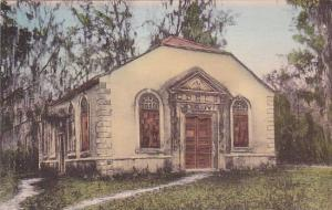Saint Janes Church Charleston South Carolina Albertype Handcolored