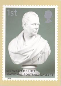 England Royal Mail Stamps 2006 Sir Walter Scott National Portrait Gallery