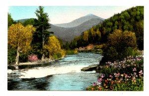 NY - Lake Placid. Whiteface Mountain & Au Sable River