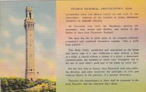Massachusetts Cape Cod Pilgrim Memorial Provincetown