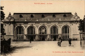 CPA Troyes- La Gare FRANCE (1007954)