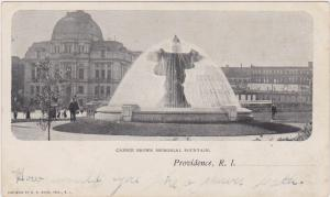 Providence , Rhode Island , PMC 1898 ; Carrie Brown Memorial Fountain