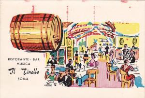 Ristorante-Bar Musica Il Tinello , Roma [Rome] , Italy , PU-1966