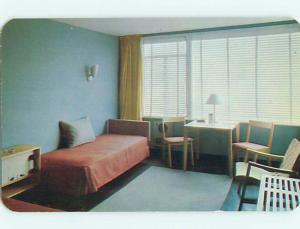 Unused 1950's TOURINNS MOTOR COURT MOTEL Pittsburgh - Allentown PA s3506@