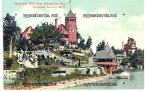 Hopewell Hall near Alexandria Bay, 1000 Islands