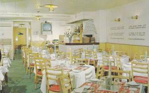 Interior,  Restaurant Au Pied De Cochon,   Montreal,  Quebec,  Canada,  40-60s