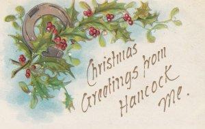 HANCOCK , Maine , 00-10s ; Christmas Greetings