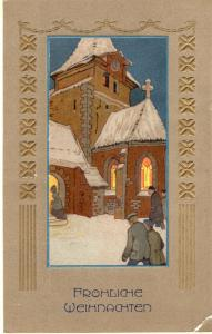 Happy New Year Vintage Postcard 01.49