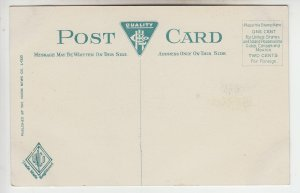 P1979 old postcard old steam RR train chester & huntington view berkshires mass