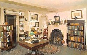 Bronson Alcott's Study Concord, Massachusetts Postcard
