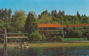 Canada Cowichan Bay Inn Vancouver Island British Columbia