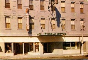 Florida Jacksonville Hotel Windle East Forsyth Street 1956
