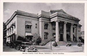 North Carolina Salisbury Rowan County Court House