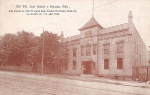 Omaha NE Western Fraternal Life (Czech Americans) 1912 Nat'l Printing Co Bldg
