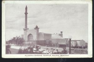 HELENA MONTANA ALGERIA SHRINE TEMPLE MOSQUE VINTAGE POSTCARD