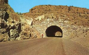 TX - Big Bend National Park. Tunnel on the Panther Junction