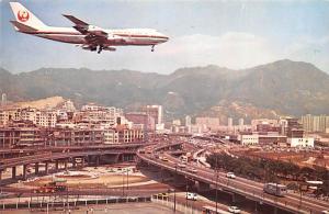 Plane Landing, Lung Tseung Road - Hong Kong