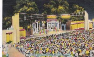 Missouri St Louis Municipal Opera In Forest Park 1949