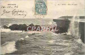 Old Postcard Brittany Binic Blades Effect