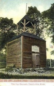 The Old Belfrey - Lexington, Massachusetts MA