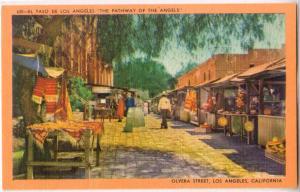 El Paso De Los Angeles, Olvera St. CA