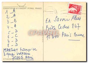 Old Postcard M and A Foundation Maeght St Paul France