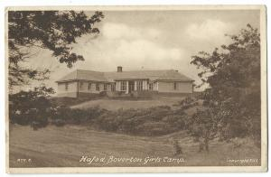 Hafod, Boverton Girls Camp PPC, Local PMK 1953 > Cambon, Tyloch Houses, Treorchy