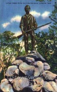 Captain Parker Statue - Lexington, Massachusetts MA