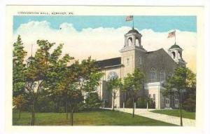 Convention Hall, Hershey, Pennsylvania, 1910-20s