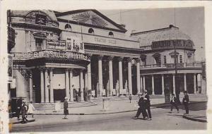 RP; MONTEVIDEO,Busy Street Scene, Tisserie Solis Hotel, Teatro Solis, Diario ...