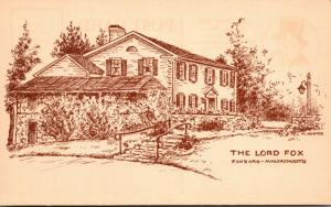 Massachusetts Foxboro The Lord Fox Restaurant
